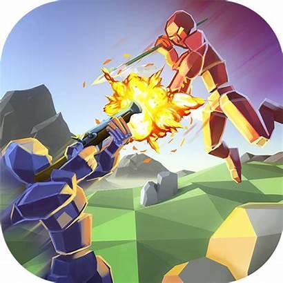 Simulator Battle Apk Mod Money Ragdoll Icon