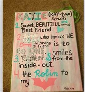 Best friend t ideas on Pinterest