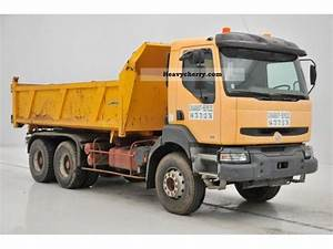 Renault Kerax 6x4 1999 Tipper Truck Photo And Specs