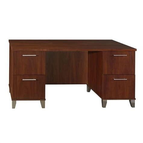 Bush Somerset 60 Quot Wood Computer Desk In Hansen Cherry