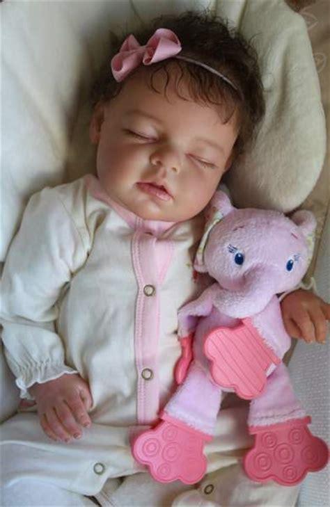 Reborn Newborn Baby Girl Doll Noah Asleep By Reva Schick
