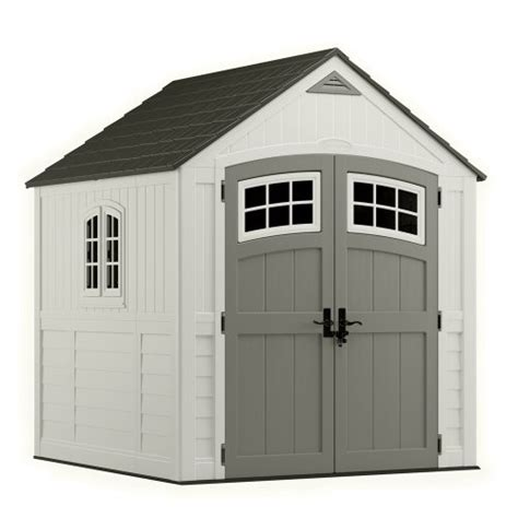 suncast storage sheds home depot lifetime sheds suncast bms7790 7 by 7 storage shed