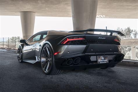 lamborghini huracan grey adv1 wheels lamborghini huracan cars grey dark modified
