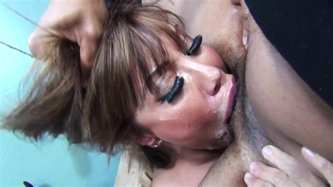 Asian Girl With Big Boobs Gets A Facial From Face Fuck