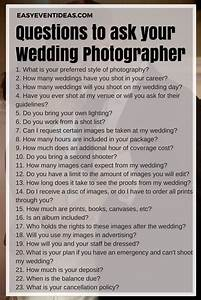 what to ask your wedding photographer easy event ideas With questions for wedding photographer