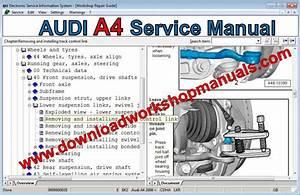 Audi A4 Service Repair Manual
