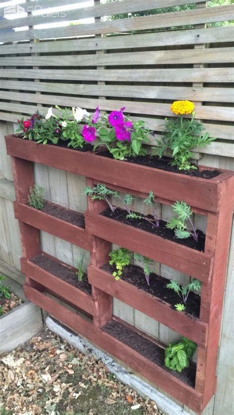amazing shipping pallet planters project pallets designs