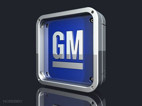 Stock Illustrations Featuring The Gm (general Motors) Logo Norebbo
