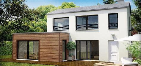 agrandissement maison bois prix m2 photos de conception de maison duyfron