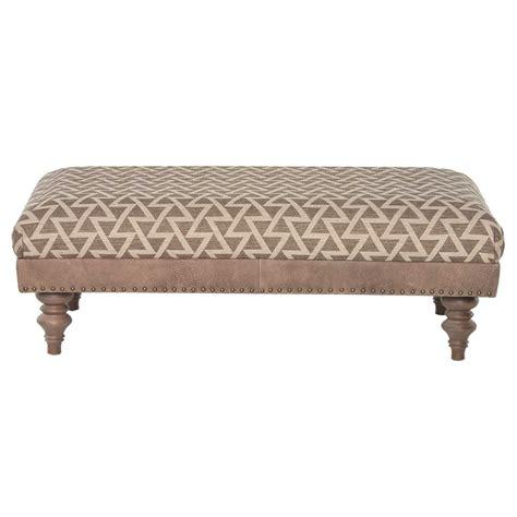 darwin leather fabric footstool barker stonehouse