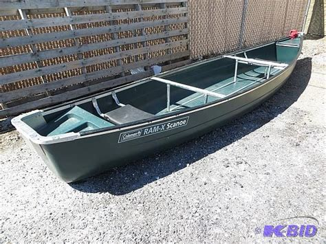 Canoes For Sale Near Me by 1997 Coleman 15 Ft 8 In Canoe Nb Bass Boat Canoe