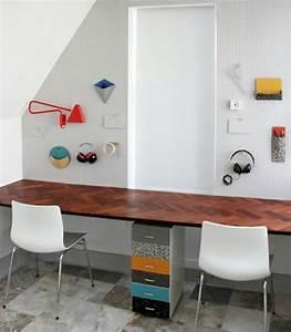 Designs uniques de bureau suspendu