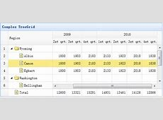 Create a Complex TreeGrid jQuery EasyUI