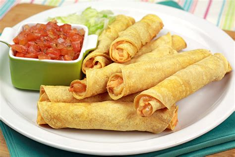 what are taquitos two cheese taquitos recipe hungry girl