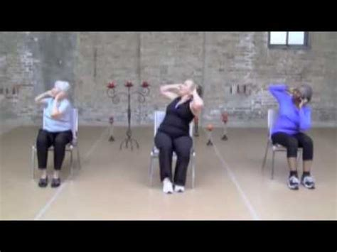 chair exercise for balance and posture youtube
