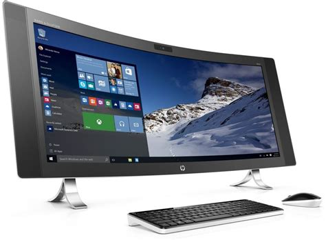 hp i7 bureau ordinateur hp 34 a090nf envy curved 34 pouces