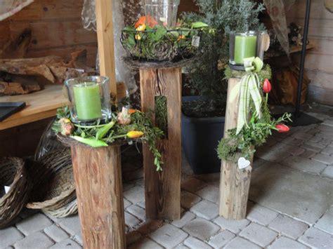 Gartendeko Holzbalken by Gartendeko Aus Alten Holzbalken Windlicht Kerzenhalter
