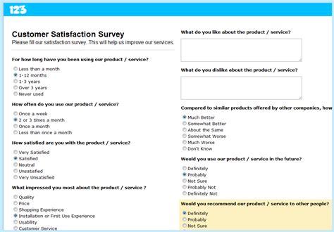 customer satisfaction survey how to create a customer feedback survey smashing forms