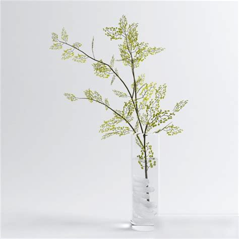 Tree Branch Vase 3d model 3ds Max files free download