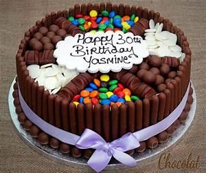 Gateau D Anniversaire : gateau chocolat anniversaire anniversaire ~ Melissatoandfro.com Idées de Décoration