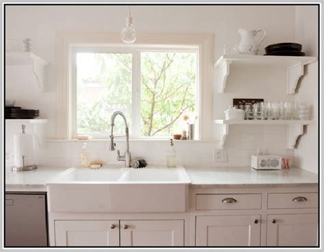top mount farmhouse sink home design ideas