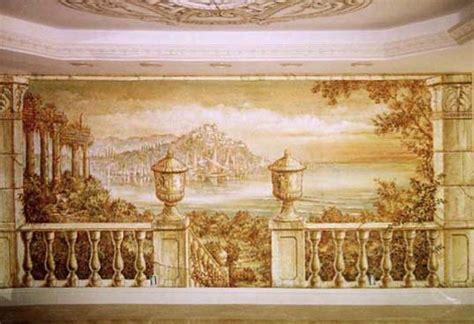 classic murals wall trompe l oeil murals