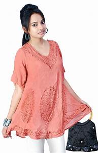NEW DESIGNER BEAUTIFUL ETHNIC BOLLYWOOD STYLE TUNIC TOPS ...