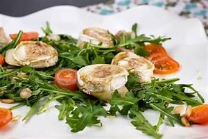 Salat Mit Ziegenkäse Und Honig : rucola salat mit birnen ziegenk se talern und honigdressing ~ Lizthompson.info Haus und Dekorationen