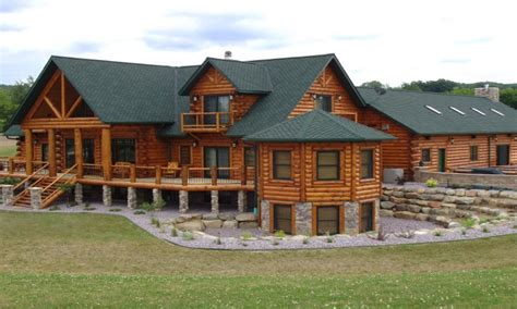 large cabin plans large luxury log home plans luxury log home designs log
