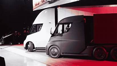 Tesla Semi Truck Ups Trucks Order Electric