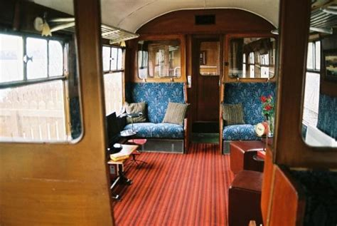 railway carriage loch awe  catering visitscotland