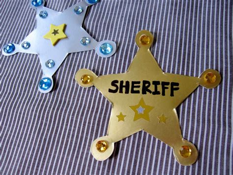 police badge craft for preschool sheriff badge craft and west books your lil cowboy 714