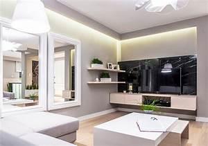 Wandgestaltung im wohnzimmer 85 ideen und beispiele for Wohnzimmer wandgestaltung farbe
