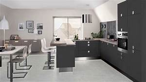 modele petite cuisine ouverte sur salon comptoir With petite cuisine ouverte sur sejour
