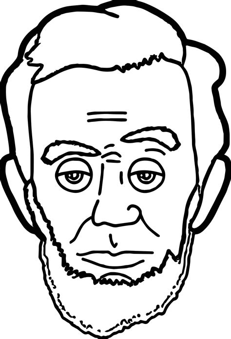 Abraham Lincoln Cartoon Drawing Free Download On Clipartmag