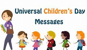 Universal Children's Day: Cute and Funny Messages, Wishes ...