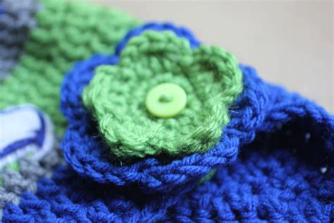 crochet seattle seahawks hat repeat crafter