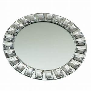 Plateau Miroir Rond : miroir plateau diamant rond mariage d co belle nuance ~ Teatrodelosmanantiales.com Idées de Décoration