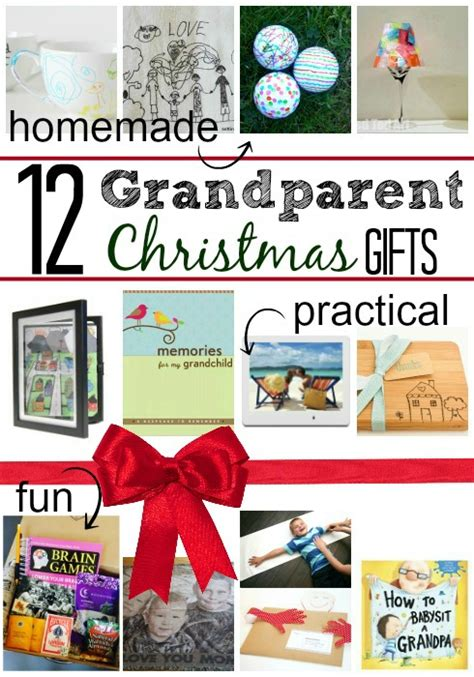 12 christmas gifts for grandparents