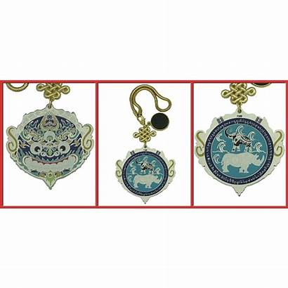 Amulet Anti Burglary Contre Vols Amulette Feng