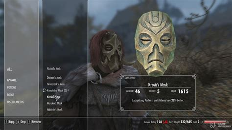 Hoodless Dragon Priest Masks With Dragonborn Support For