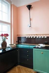 Cuisine Rose Poudré : 1001 id es d co avec la couleur bleu canard pour une ambiance apaisante et naturelle ~ Melissatoandfro.com Idées de Décoration