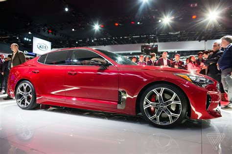KIA Car : The Kia Stinger Is A Sports Sedan That Sizzles In A Sea Of