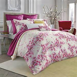 buy bluebellgray cherry blossom pink twin comforter and sham set from bed bath beyond