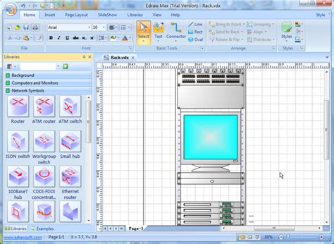 visio network diagram replacement software better