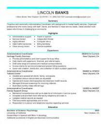 career objective exles for medical administrative assistant sle resume staffing coordinator