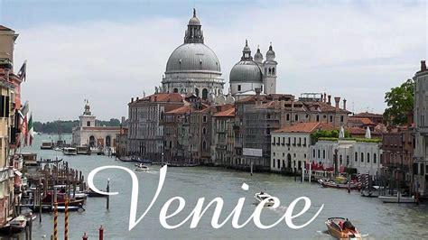 Italy Venice City Of Water Youtube