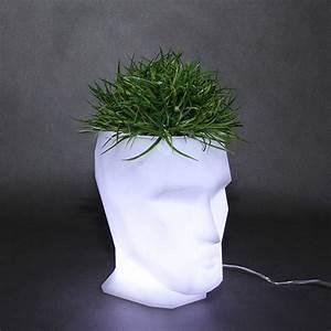 Pot Fleur Lumineux : pots design lumineux multicolore led adan vondom ~ Nature-et-papiers.com Idées de Décoration