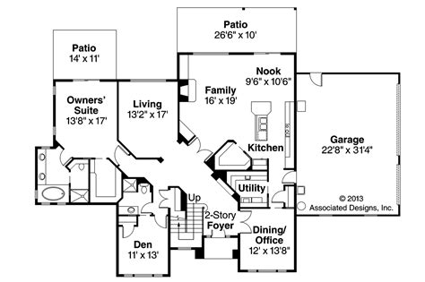 traditional floor plans traditional house plans bloomsburg 30 667 associated