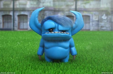 Monster - Cartoon 3D on Behance